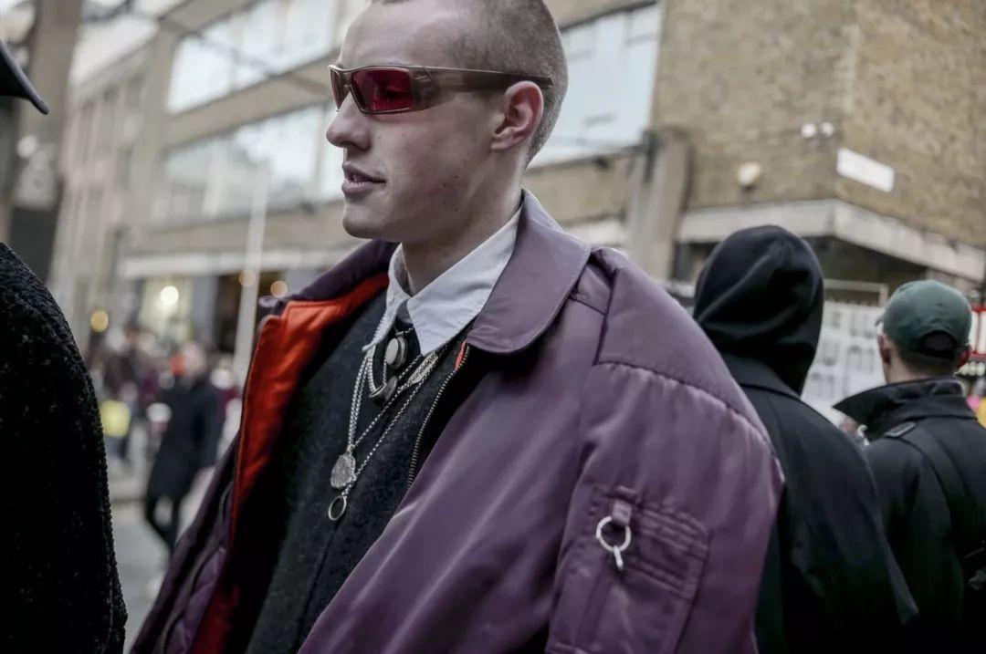 伦敦男装周 | 伦敦街上的气质男孩依然让人着迷