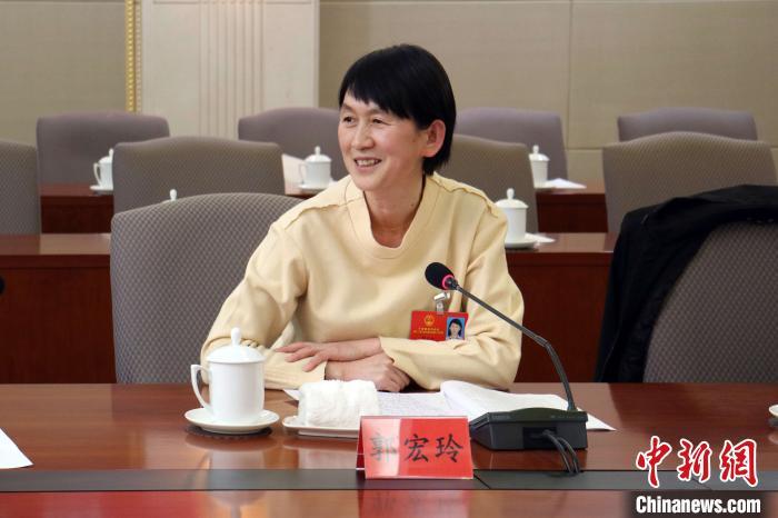 宁夏人大代表郭宏玲:保护黄河流域生态 筑牢西北生态安全屏障