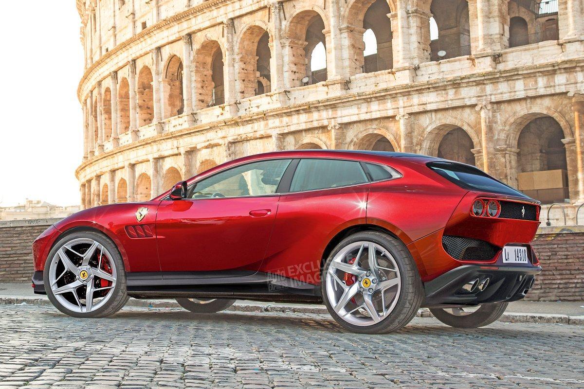 法拉利首款SUV官图来了,热辣造型或搭V12动力,实在诱人