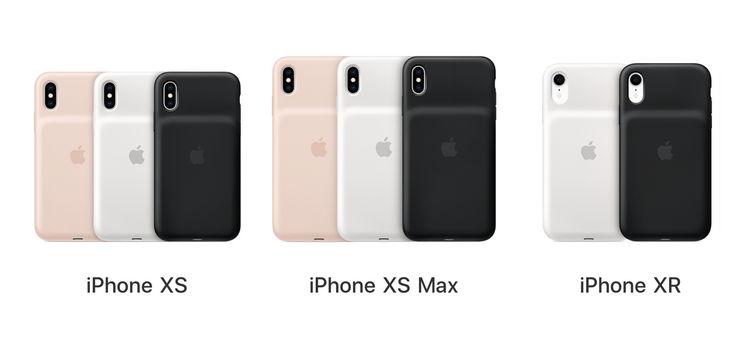 蘋果推出更換計劃:修復iPhone XS/XS Max/XR智能電池殼充電問題