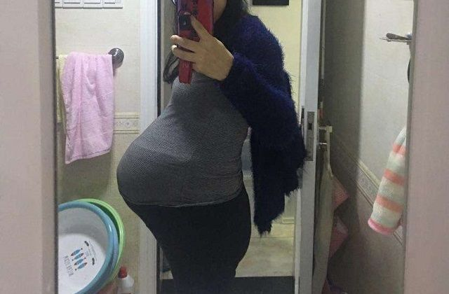 孕妈的肚脐,凸出来好还是凹进去好?如果是这种状况说明很有福气