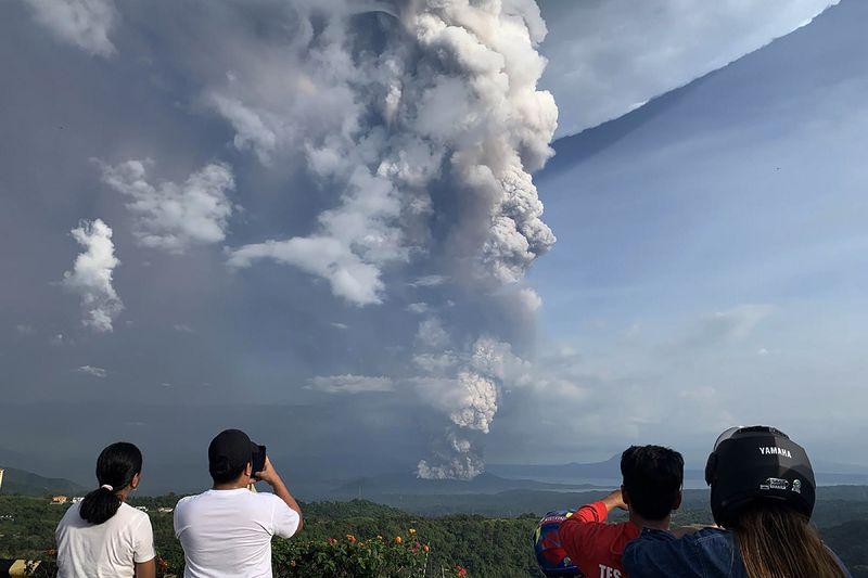 菲律賓火山噴發 火山噴發的巖漿來自于哪里?
