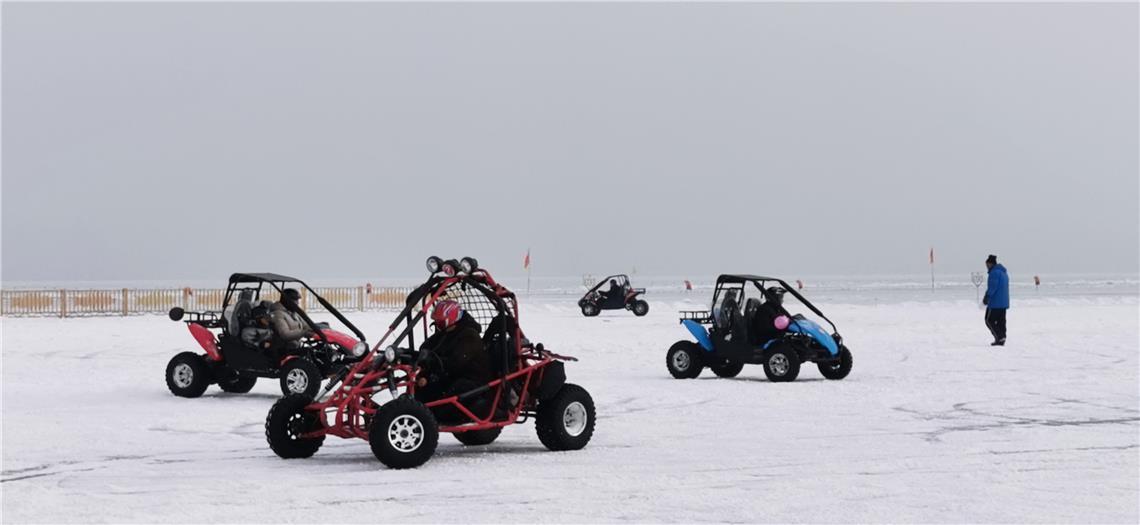 新疆博湖县第十二届冰雪节开幕