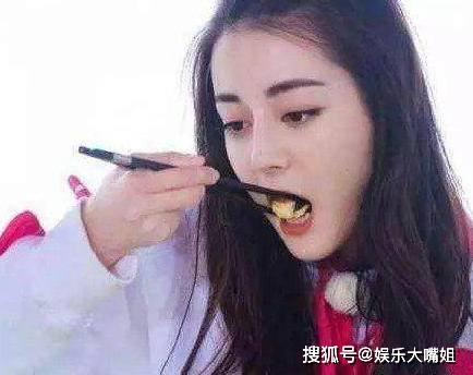 【迪丽热巴最爱吃4种美食,第一个不能接受,第四个看起来好有食欲】