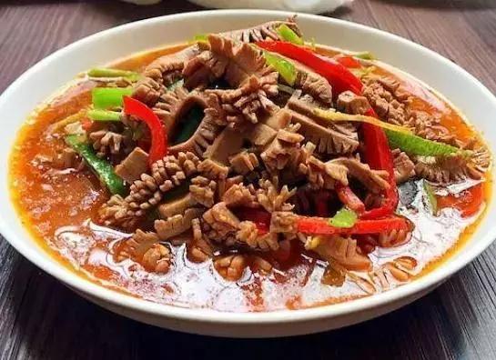 【菜谱:爆炒腰花,无油糖醋排骨,番茄虾,东坡肉】
