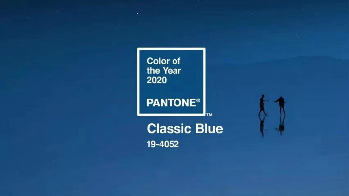 酷乐表情 | 从2020Pantone色来看,今年将是蓝盘的天下