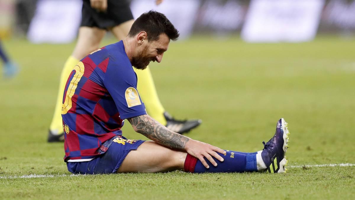队友拖后腿!西媒:梅西正被孤立 他已感到厌倦