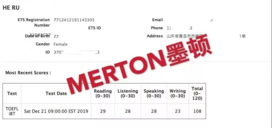 2019年托福收官之战-成绩分析
