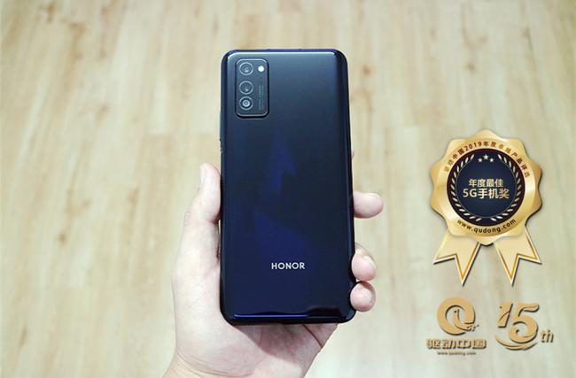"""驱动中国2019""""年度最佳5G手机""""获奖产品荣耀V30 Pro图赏"""