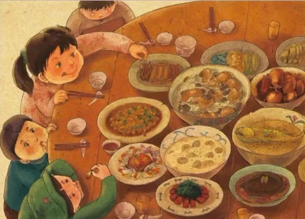 """""""年夜饭""""不仅仅是一顿饭"""