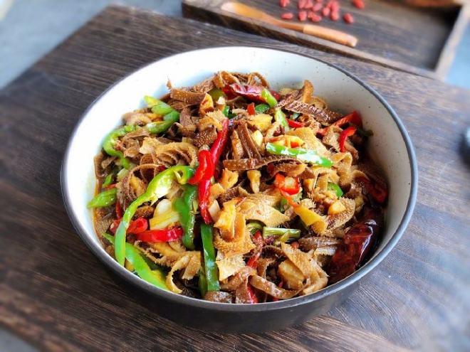 _下饭菜,香辣牛百叶,简单的家常炒菜,美味下饭,爆好吃,动手吧