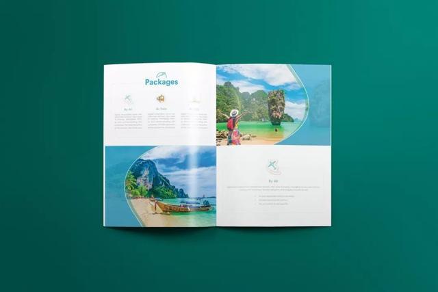创意画册版式设计欣赏~广州创景园林设计所图片