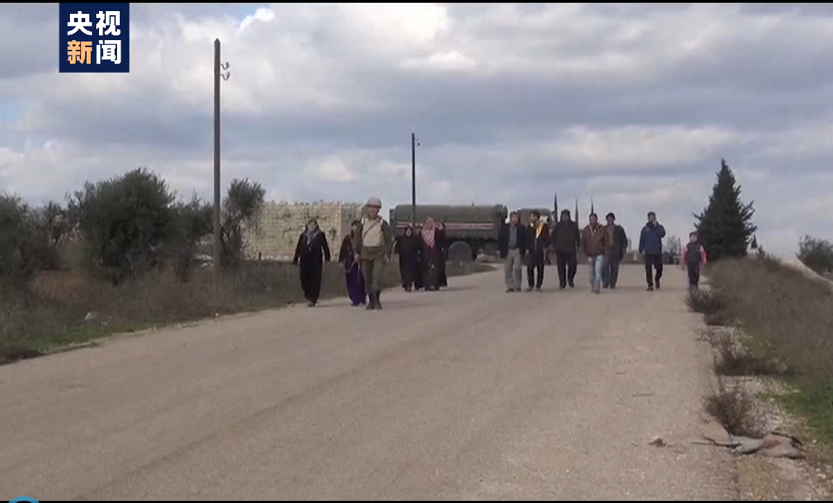 叙政府开启三条人道走廊 供平民撤离反对派武装控制区