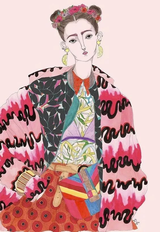 —— 20张时尚创意插画!