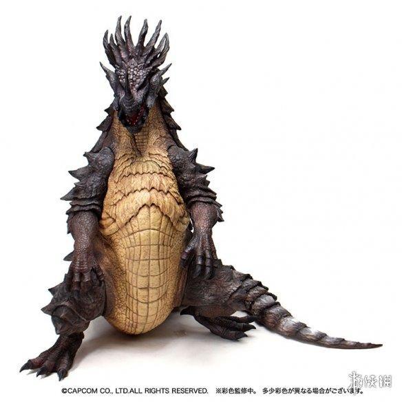 《怪物猎人》15周年巨大软胶系列老山龙亚种模型赏