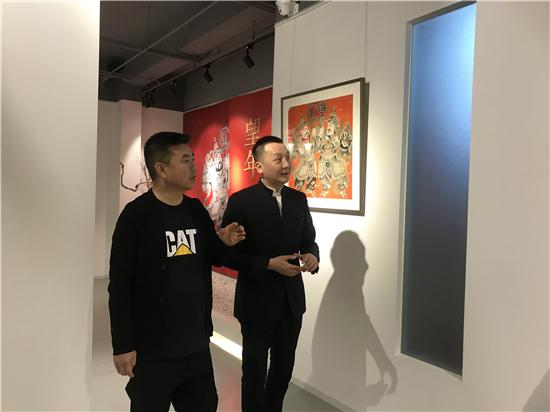 望年(第二季)孟凡書藝術漫談在東方珍寶美術館舉辦