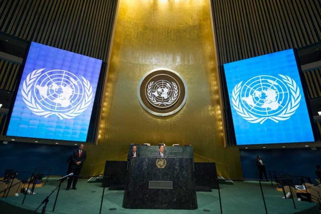"""联合国宣布7国丧失投票权,黎巴嫩立马""""打钱"""""""