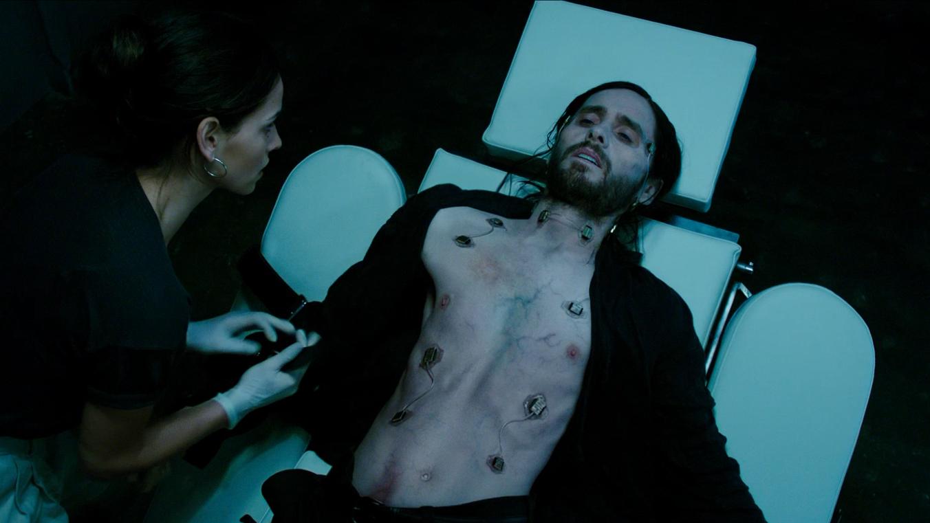 《莫比亚斯》预告片火热出炉 杰瑞德-莱托吸血鬼扮相抢眼