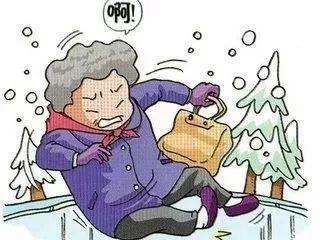 冬季,老年人防摔倒很重要!