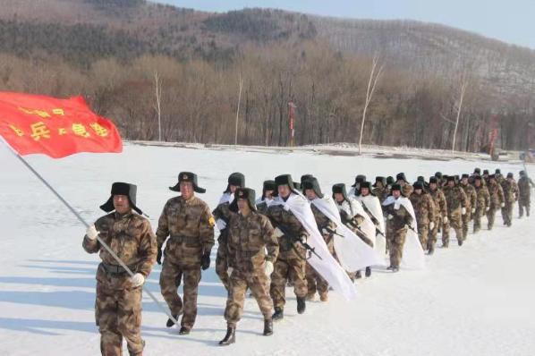 宝清县积极开展冬季训练