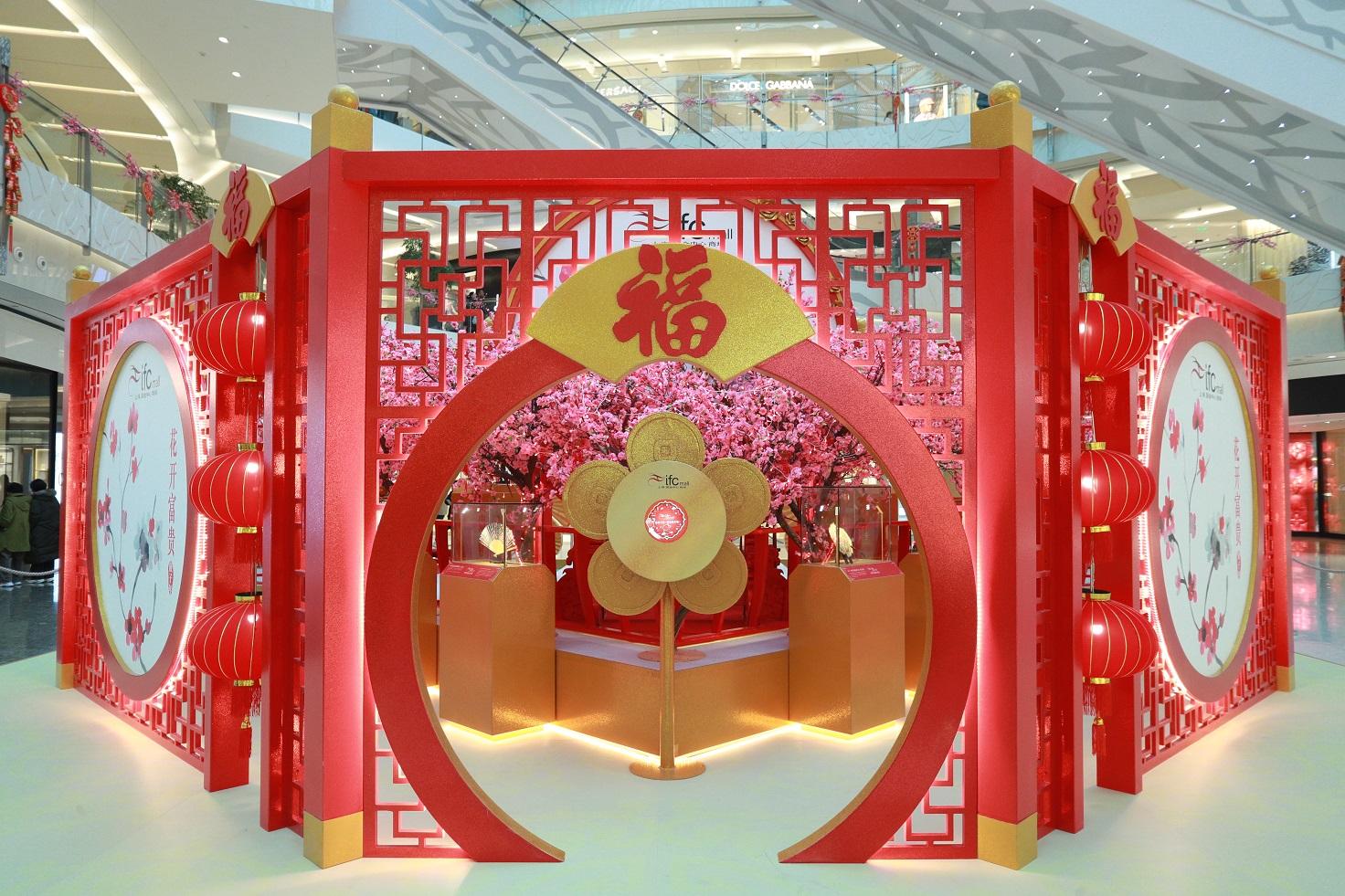 鸿运华园献新瑞 《世界珍品扇艺术展》亮相上海ifc商场
