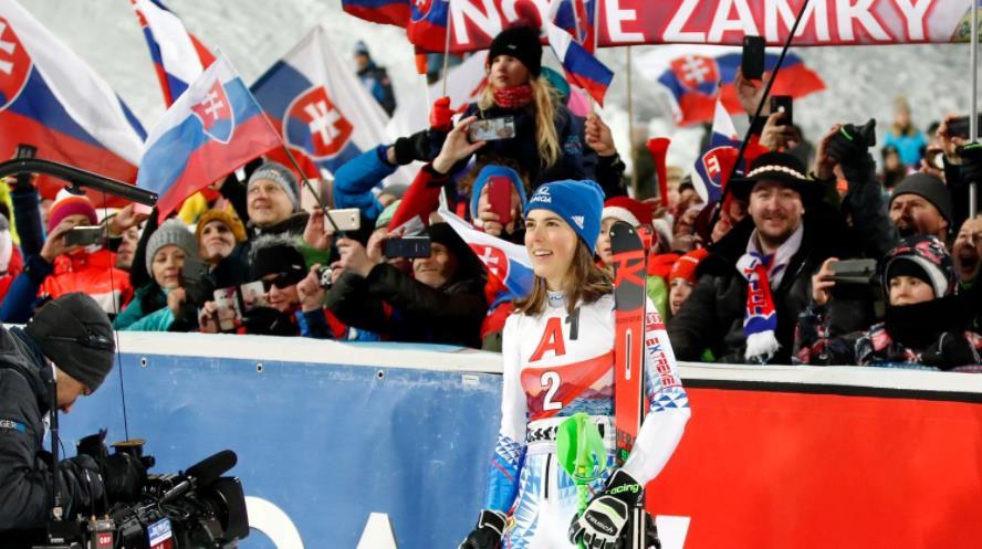 回转世界杯奥地利站:弗尔霍娃成功卫冕 谢弗林第3