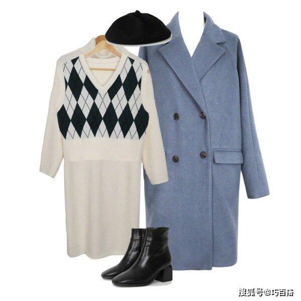 一件大衣的7种穿搭案例,足够你美腻整个假期,看一看就能学会