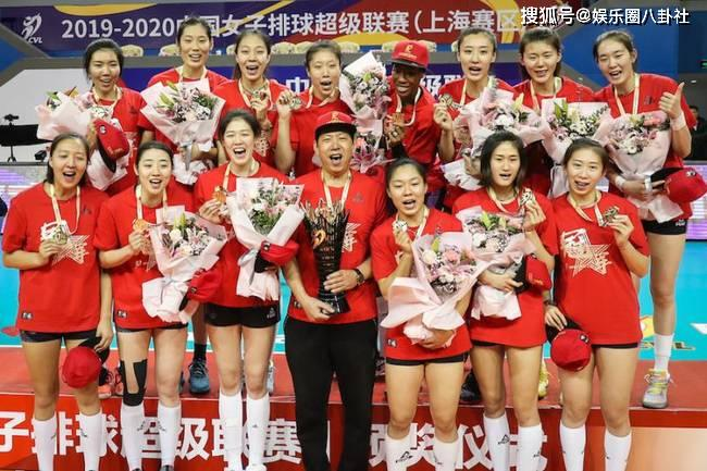 原創            天津女排奪冠,獲得聯賽第12個冠軍
