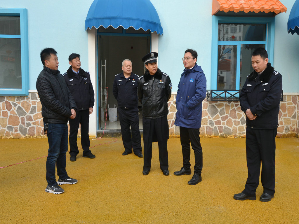 华侨城常德卡乐星球开园在即,柳叶湖公安分局前往开展安全检查