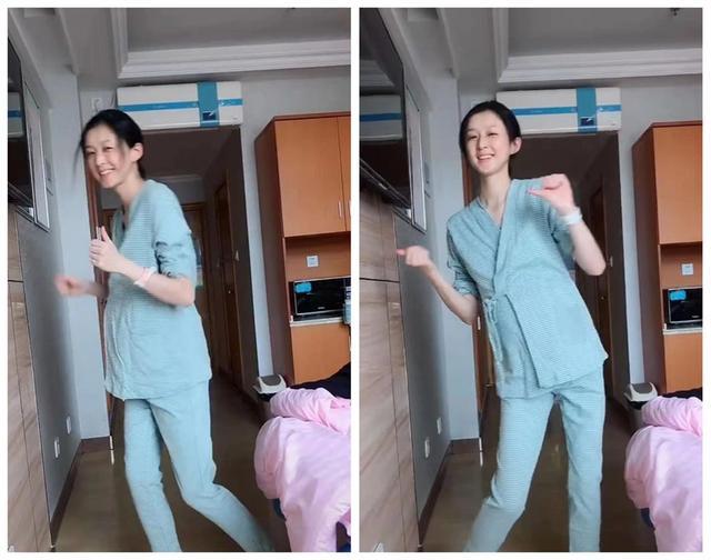 """""""身材最好""""孕妈,病房跳舞走红网络,网友笑称:宝爸要疯了"""