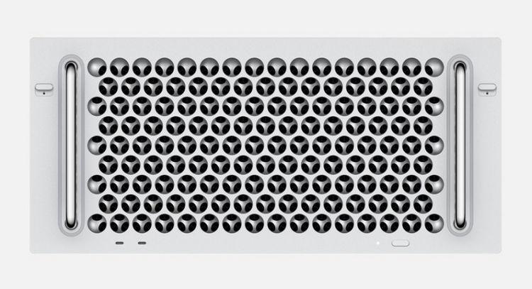 蘋果MacPro機架式正式開售:6499美元起,保留三維網格樣式設計