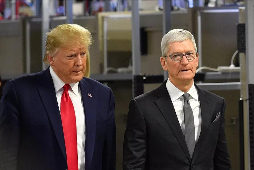 特朗普炮轰苹果 网友:特朗普这是拿了七位数广告费?