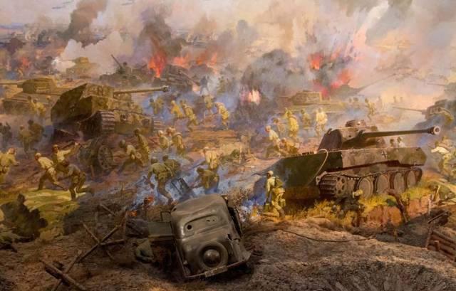 二战苏德两军间最大规模的对攻战役,双方出动八千辆坦克