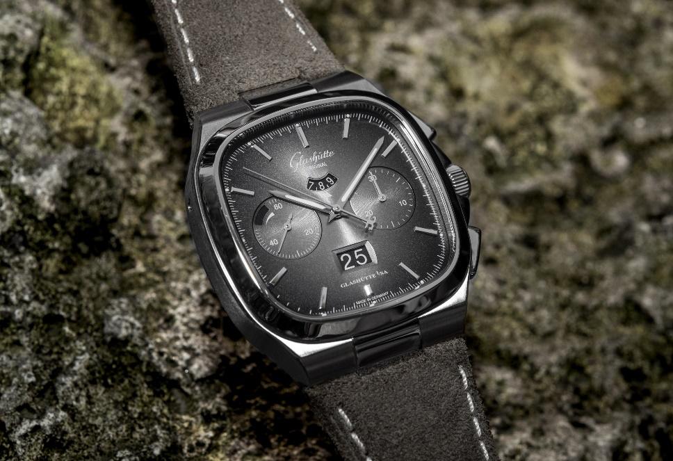 格拉苏蒂原创七零年代大日历计时腕表特别限量款
