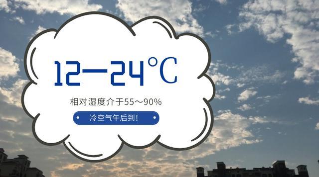 @广州小伙伴,冷空气午后到,下班妖风又会来袭