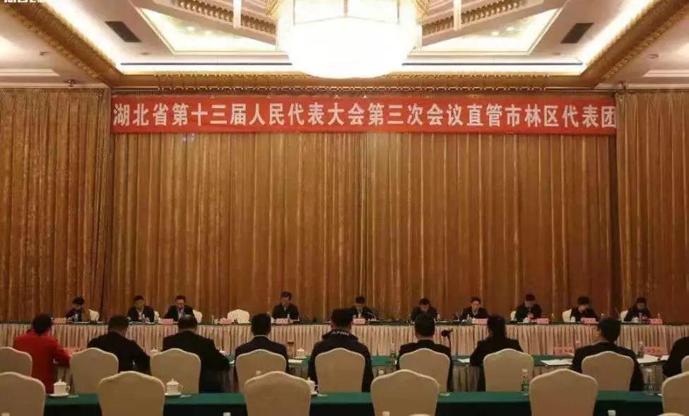 【时政】省十三届人大三次会议直管市、林区代表团全体会议召开!