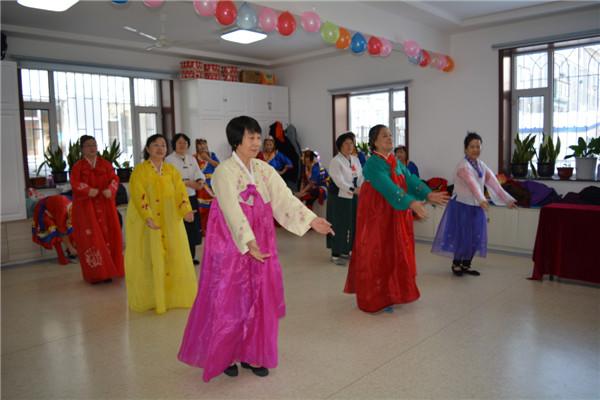我的中国梦 文化进万家:延边州白玉社区开展文化惠民活动