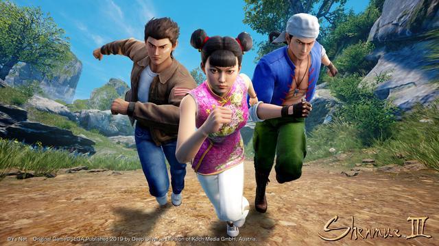 可操作NPC角色《莎木3》將推出戰斗拉力賽DLC