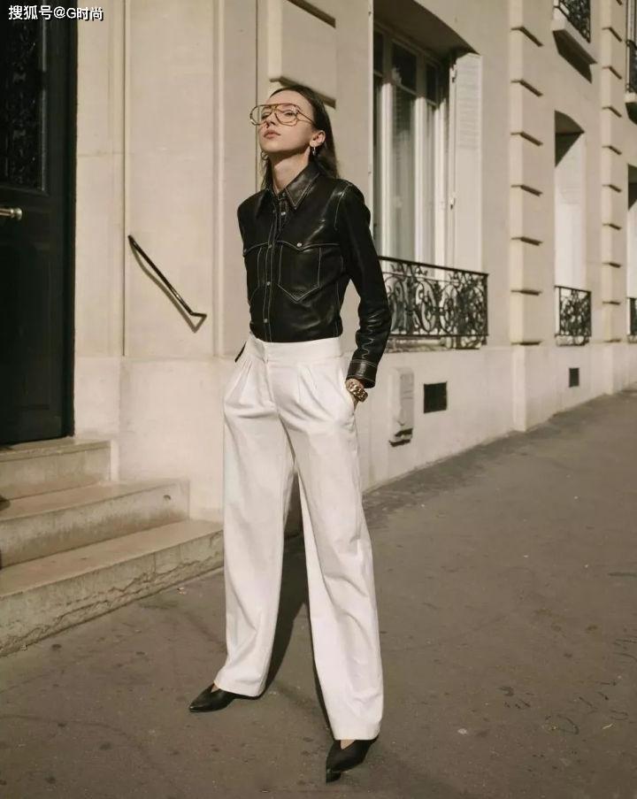 日常百搭的直筒裤 帮你打造完美身材比例 既有温度又有风度