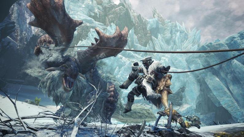 游戏午报:《怪物猎人世界:冰原》出货量破400万,本体达1500万