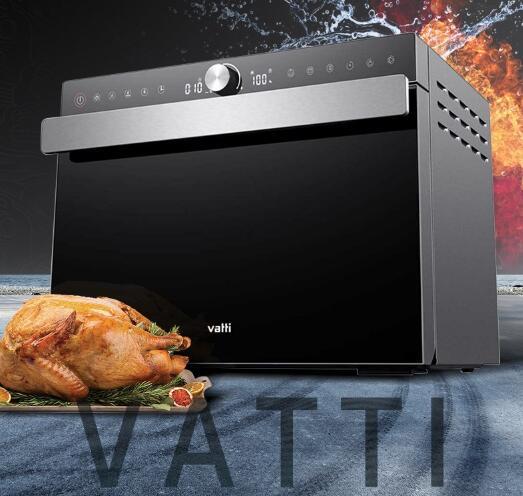 多面散热蒸汽不扑脸,蒸烤一体机就选它