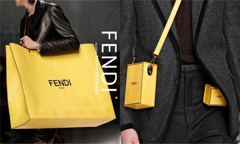 一次收刮男女钱包!Fendi 2020秋冬男装手袋,让女人也一见倾心