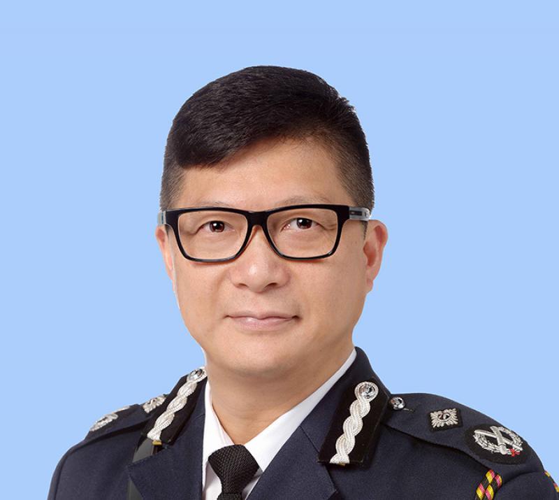 """泛暴派无理要求港警""""一哥""""邓炳强下台,特区政府严正表态"""