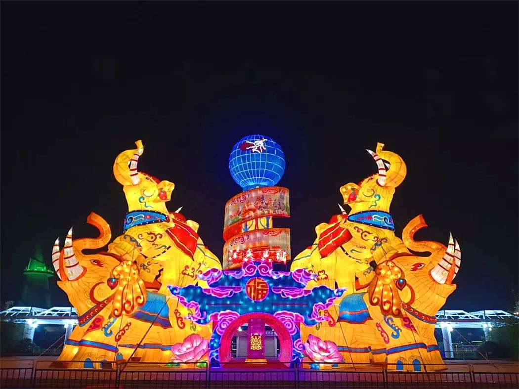 花灯盛宴、百合花海、民俗展演… 绿博园邀您红红火火过大年
