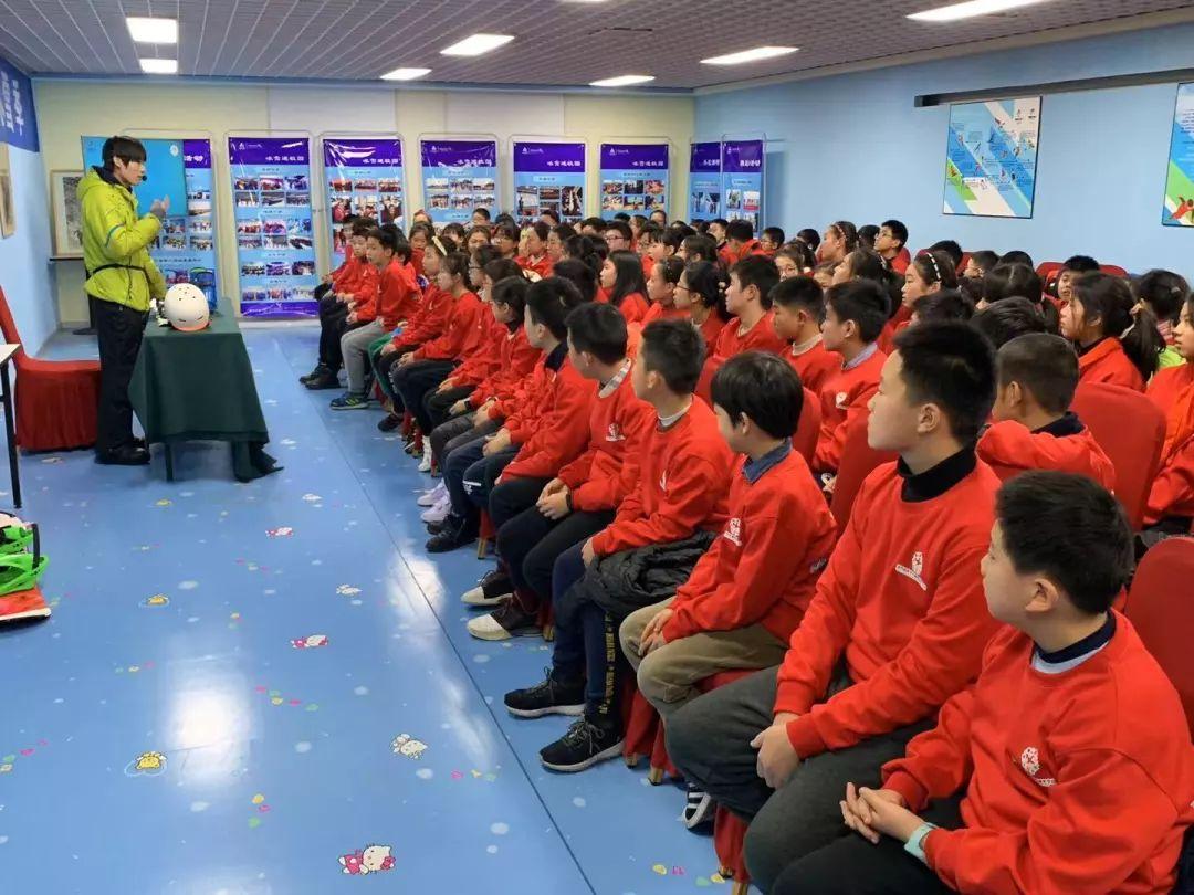 绍兴市青少年冰雪运动冬令营活动进行中!