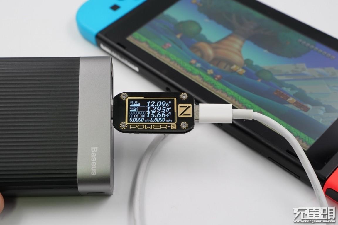 任天堂Switch国行版移动电源兼容性大评测(20000mAh+篇)_Baseus