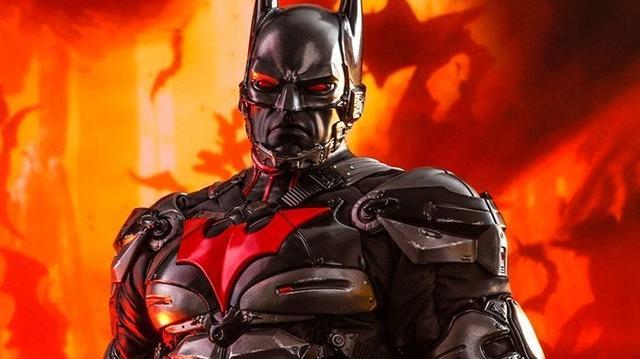 傻妻训六夫Hot Toys《蝙蝠侠:阿卡姆骑士》蝙蝠侠