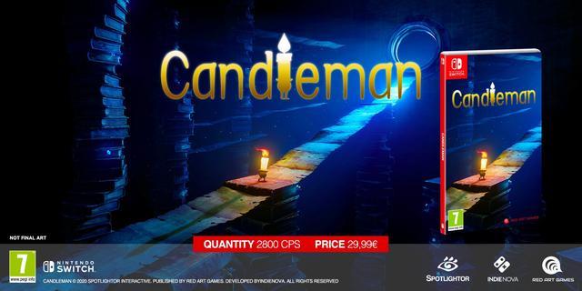国产游戏《蜡烛人》推出Switch实体版 限量280