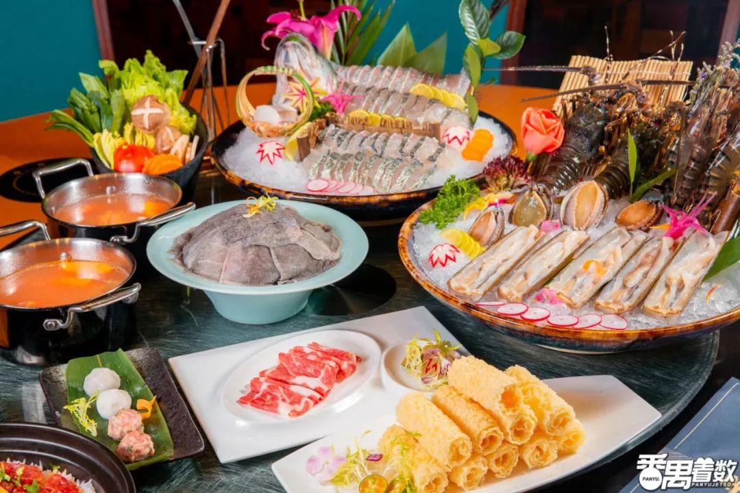 四海一家的【海鲜火锅店】,凭一口鲜蹿红,人均200+吃罕见海货!: