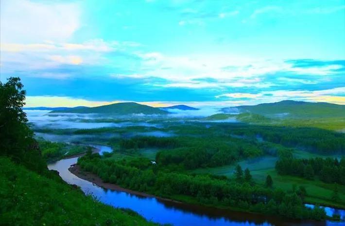 内蒙古大兴安岭林区12个水姑娘,谁最漂亮!
